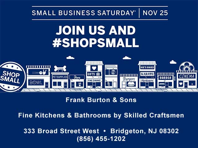 Shop local, shop small