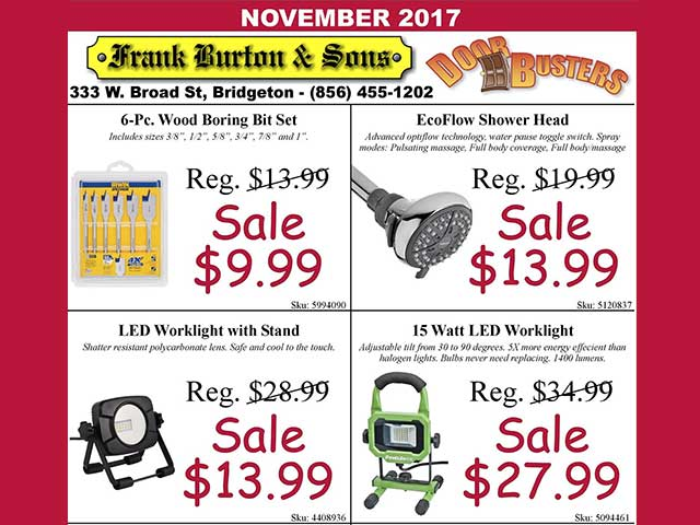 Burton's November Door Busters are here!