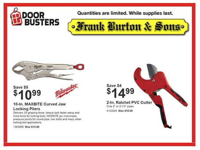 Burton's July Door Busters