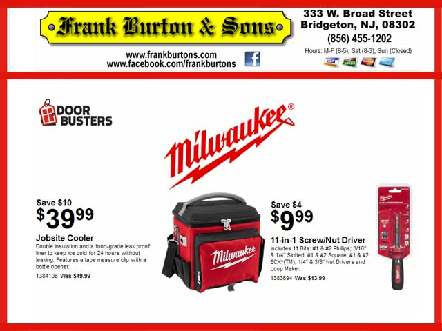 March 2019 Door Buster Specials