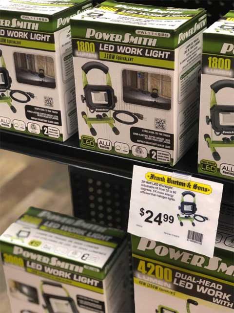 High Power LED Work Lights