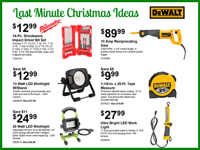 Last-Minute Christmas Ideas